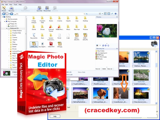 Magic Photo Editor 7.5 Crack Plus Serial Number Free Download For PC