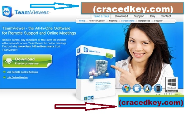 TeamViewer 15.5.6 Crack + License Key Free Download