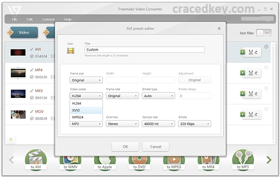 Freemake Video Converter 4.1.10.380 Crack + Serial Key Full Download